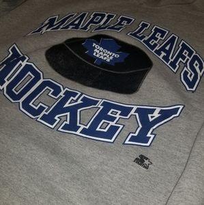 Vintage STARTER Toronto Maple Leafs Crewneck